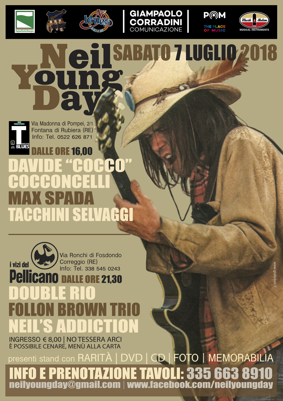 Tabacchi Blues - Neil Young Day Convention 2018